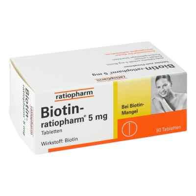 Biotin Ratiopharm 5 mg Tabl.  zamów na apo-discounter.pl