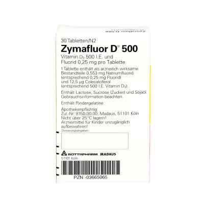Zymafluor D 500 Tabl.  zamów na apo-discounter.pl