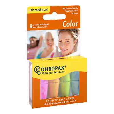 Ohropax Color stopery z pianki