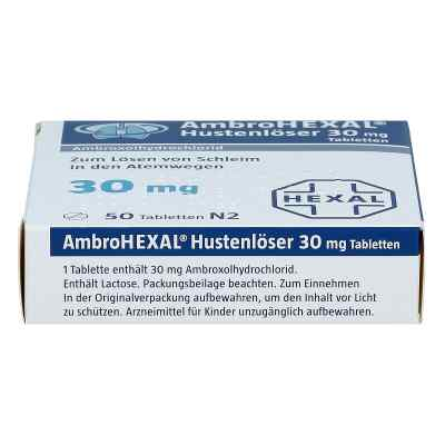 Ambrohexal Hustenloeser 30 mg Tabl.  zamów na apo-discounter.pl