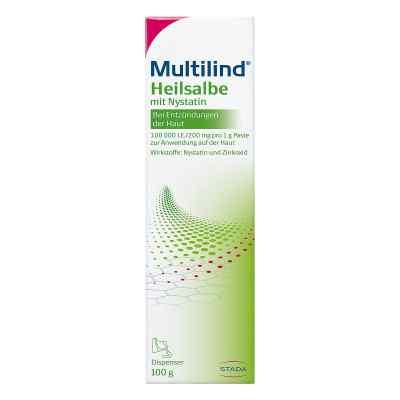 Multilind maśc lecznicza z nystatyną  zamów na apo-discounter.pl