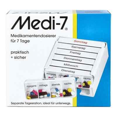 Medi 7 dozownik na medykamenty na 7 dni  zamów na apo-discounter.pl