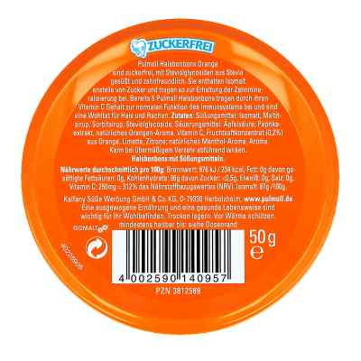Pulmoll Hustenbonbons Orange + Vit.c, zf.