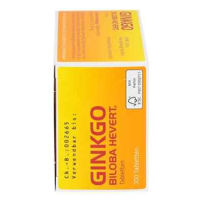 Ginkgo Biloba Hevert Tabletten