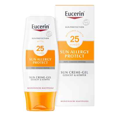 Eucerin Sun SPF 25 Żel-krem do opalania do skóry alergicznej   zamów na apo-discounter.pl