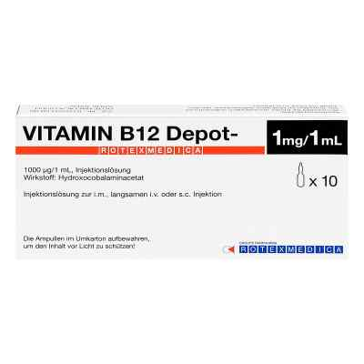 B 12 Depot Rotexmedia ampułki  zamów na apo-discounter.pl