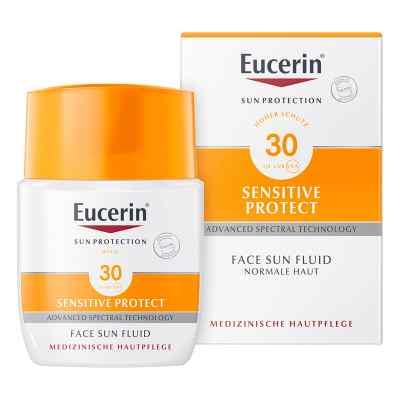 Eucerin Sun Fluid do opalania SPF 30  zamów na apo-discounter.pl