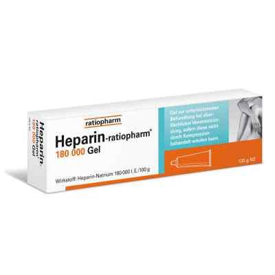 Heparin Ratiopharm 180000 żel  zamów na apo-discounter.pl