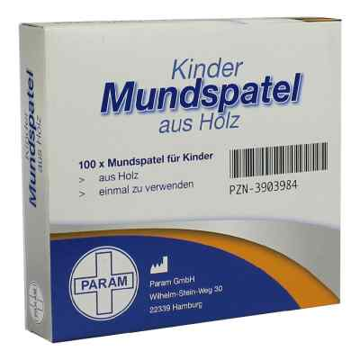 Mundspatel Holz fuer Kinder  zamów na apo-discounter.pl