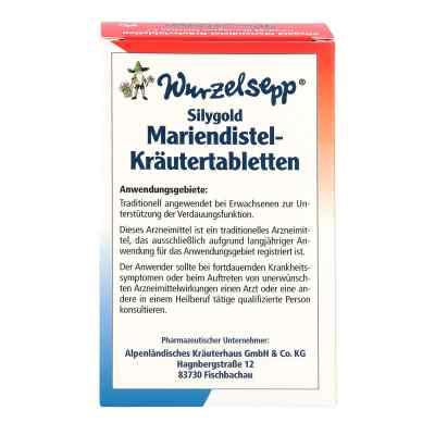 Wurzelsepp tabletki ziołowe z ostem