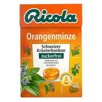 Ricola Box cukierki pomarańczowo-miętowe bez cukru  zamów na apo-discounter.pl