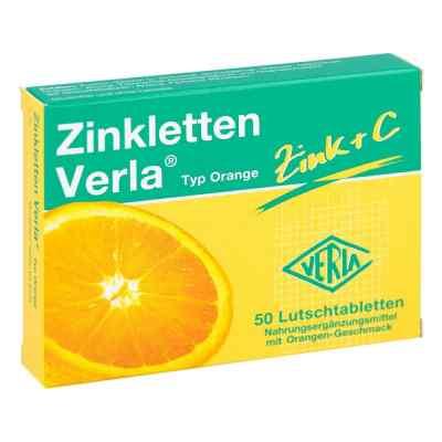 Zinkletten Verla pomarańczowe tabletki do ssania  zamów na apo-discounter.pl