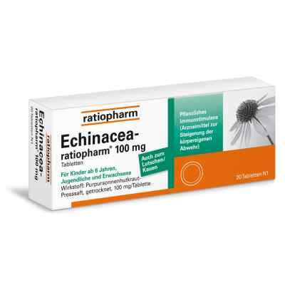 Echinacea Ratiopharm 100 mg tabletki  zamów na apo-discounter.pl
