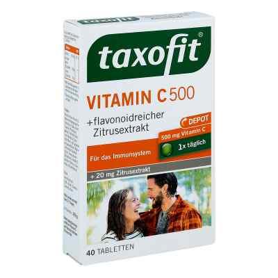 Taxofit Vitamin C 500 Depot tabletki  zamów na apo-discounter.pl