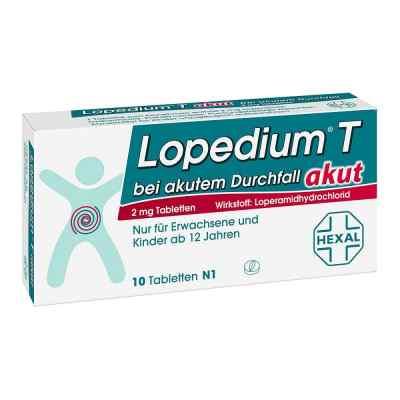 Lopedium T akut bei akutem Durchfall Tabl.  zamów na apo-discounter.pl