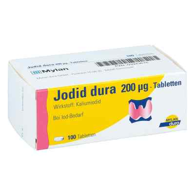 Jodid dura 200 [my]g Tabl.  zamów na apo-discounter.pl