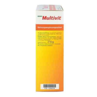 Hermes Multivit tabletki musujące  zamów na apo-discounter.pl