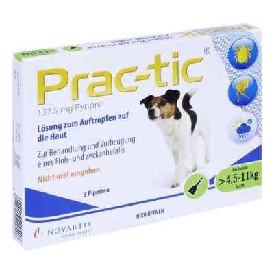 Prac tic für kleine Hunde 4,5-11 kg Einzeldosispipetten   zamów na apo-discounter.pl