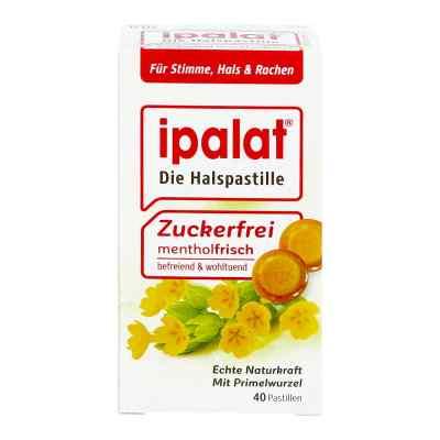 Ipalat pastylki na kaszel bez cukru  zamów na apo-discounter.pl