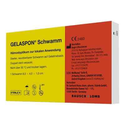Gelaspon 1 85x4x1 cm opatrunek paskach  zamów na apo-discounter.pl