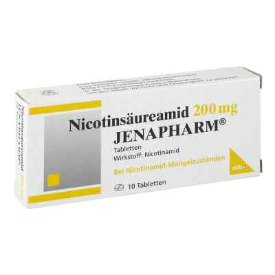 Nicotinsaeureamid 200 mg Jenapharm Tabl.  zamów na apo-discounter.pl
