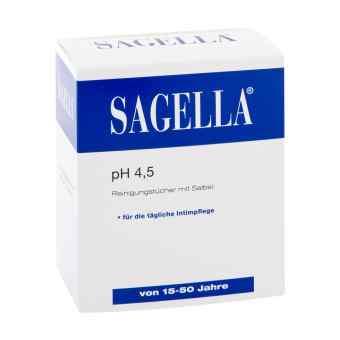 Sagella pH 4,5 chusteczki do higieny intymnej  zamów na apo-discounter.pl