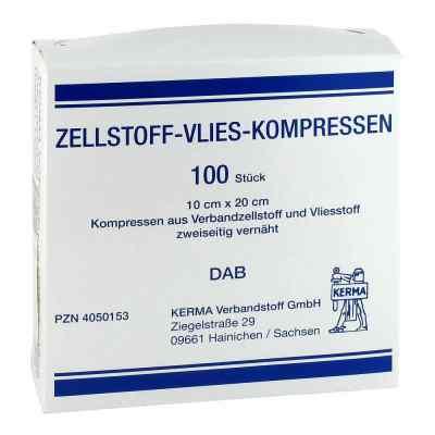 Zellstoff Vlies Kompressen 10x20cm unsteril  zamów na apo-discounter.pl