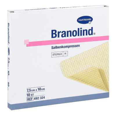 Branolind 75x10cm kompresy  zamów na apo-discounter.pl