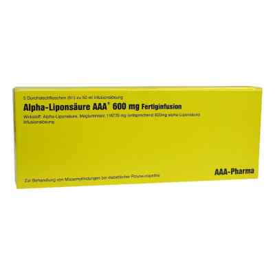 Alpha Liponsaeure Aaa 600 mg Inj.-fl.