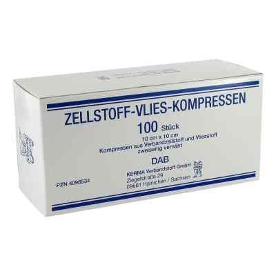 Zellstoff Vlies Kompressen 10x10cm unsteril  zamów na apo-discounter.pl