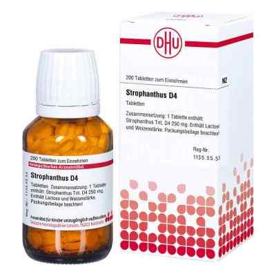 Strophanthus D4 w tabletkach  zamów na apo-discounter.pl