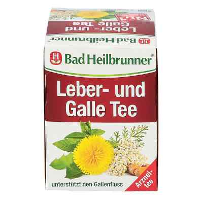 Bad Heilbrunner herbatka wspomagająca pracę wątroby