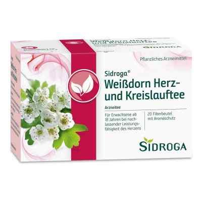Sidroga Weissdorn Herz+kreislauf Tee Filterbtl.  zamów na apo-discounter.pl