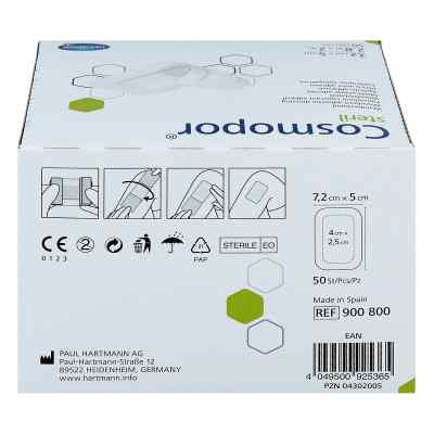 Cosmopor 72x5cm plaster jałowy  zamów na apo-discounter.pl