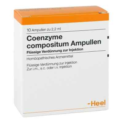 Coenzyme Coenzyme compositum ampułki