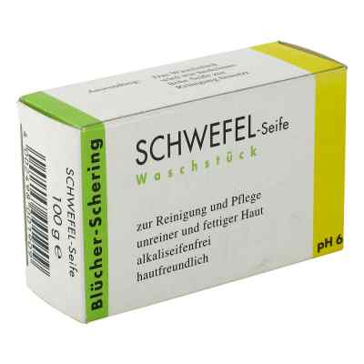 Bluecher Schering mydło siarkowe  zamów na apo-discounter.pl