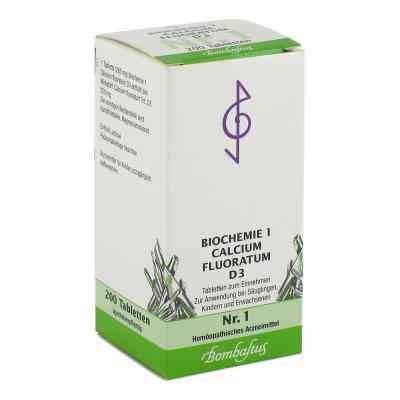 Biochemie 1 Calcium fluoratum D 3 Tabl.  zamów na apo-discounter.pl