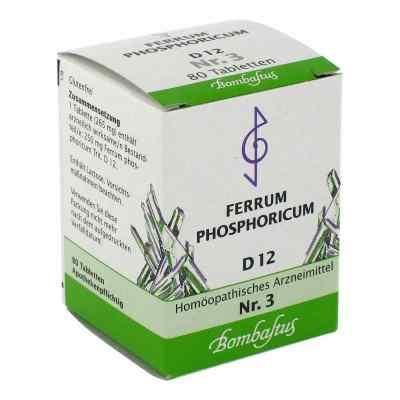 Biochemie 3 Ferrum phosphoricum D 12 Tabl.  zamów na apo-discounter.pl