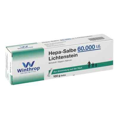 Hepa Salbe 60 000 I.e. Lichtenstein  zamów na apo-discounter.pl