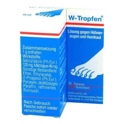 W-tropfen roztwór przeciwko odcisk i naskórkowi  zamów na apo-discounter.pl