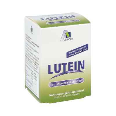 Luteina 6 mg + Borówka kapsułki