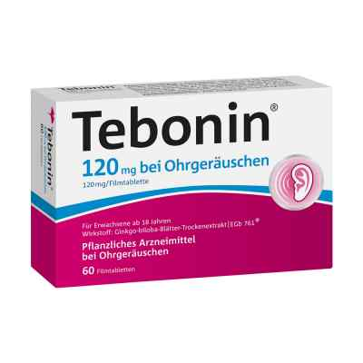 Tebonin 120 mg bei Ohrgeraeuschen Filmtabletten  zamów na apo-discounter.pl