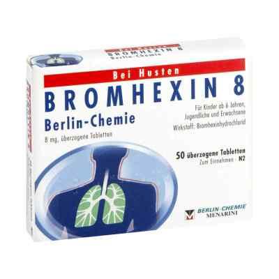 Bromhexin 8 Berlin Chemie Drag.  zamów na apo-discounter.pl