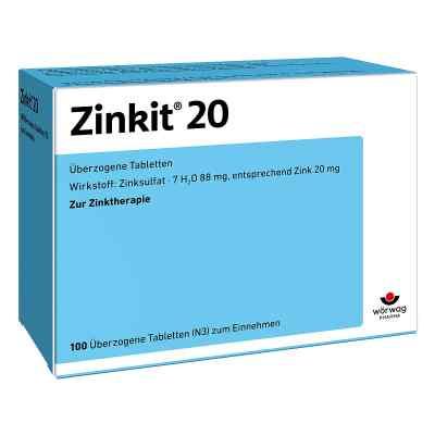 Zinkit 20 Tabl.ueberzogen  zamów na apo-discounter.pl