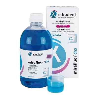 Miradent Mirafluor Chx 0,06% płyn do płukania   zamów na apo-discounter.pl