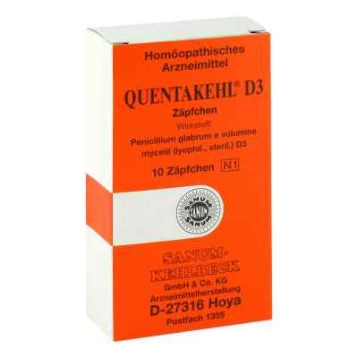 Quentakehl D 3 Suppos.  zamów na apo-discounter.pl