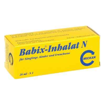 Babix Inhalat N maść do inhalacji  zamów na apo-discounter.pl