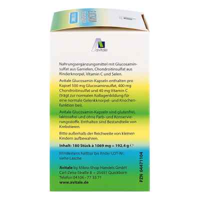 Glukozamina 500 mg + Chondroitin 400 mg kapsułki