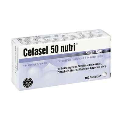 Cefasel 50 nutri Selen Tabs tabletki  zamów na apo-discounter.pl