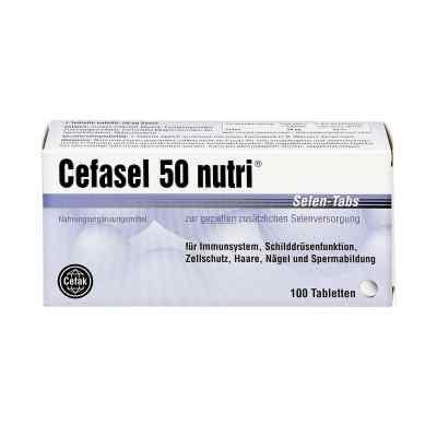 Cefasel 50 nutri Selen Tabs tabletki